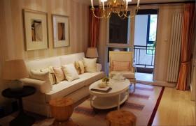简约70平小户型客厅装修设计