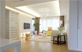 现代简约风格二居室内装修设计