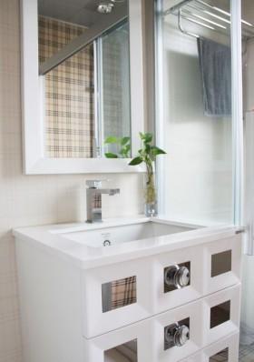 卫生间整体浴室柜装修设计效果图大全