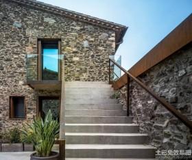 现代豪华别墅外观设计效果图片大全