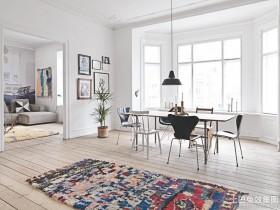 现代风格120平方米三室两厅装修风格