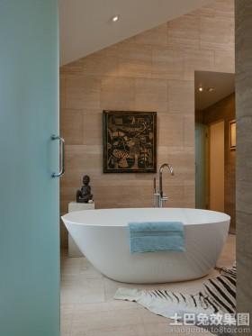 别墅家用浴缸图片