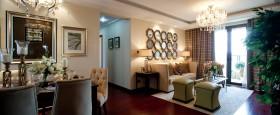 现代风格两室两厅室内装修效果图