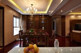 现代大户型室内餐厅装修图片