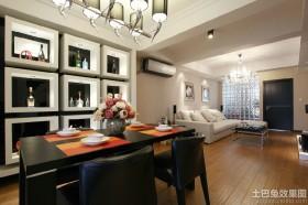 时尚现代风格两室一厅装修效果图
