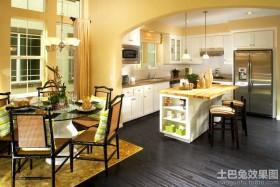 东南亚风格别墅厨房装修图片