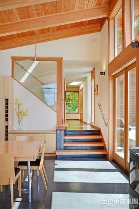 木制跃层式住宅设计