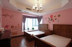 美式儿童公主房装修效果图