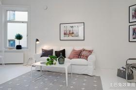 白色北欧风格家具图片