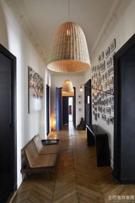 创意仿古风格二居室内过道装修效果图