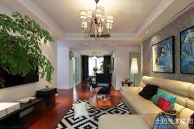 混搭风格80平小户型客厅装修效果图大全