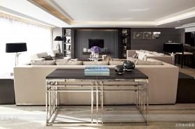 现代风格豪华别墅室内装修效果图