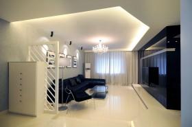 客厅白色瓷砖贴图欣赏
