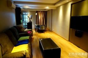现代风格50平米小户型家装设计效果图