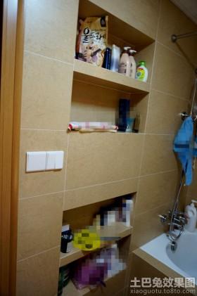 浴室墙上壁龛图片