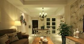 简欧式家居装修客厅灯具设计