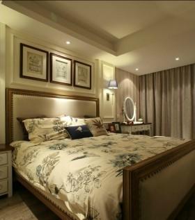 二居家庭主卧室装修效果图大全