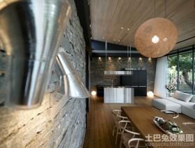 农村别墅现代风格餐厅装修效果图