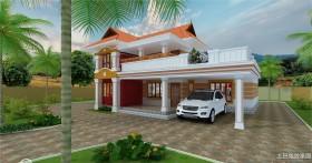 二层乡村小别墅设计图