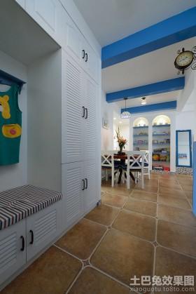地中海风格三房两厅装修效果图