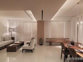 90平米两房装修家庭室内设计图