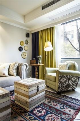 混搭装修客厅家具图片