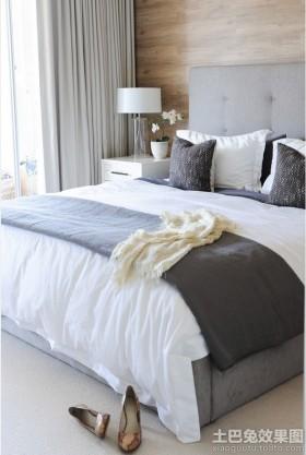 现代风格90平方米两室一厅时尚卧室装修效果图