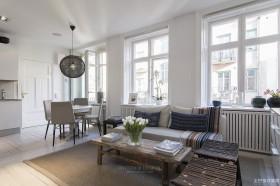 现代风格130平方米三室两厅时尚休闲区装修效果图