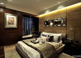 后现代四室两厅卧室装修效果图