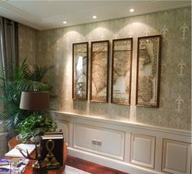 欧式家居室内装饰画贴图欣赏