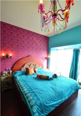波西米亚风格110平米二居卧室装修效果图大全
