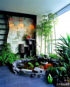 室内豪华阳台设计效果图欣赏