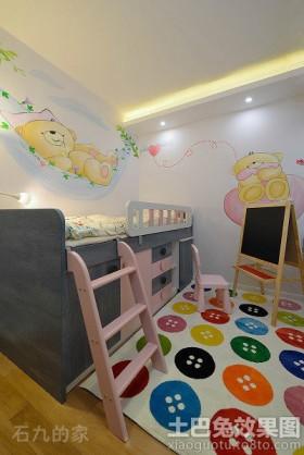 简约时尚儿童房间设计