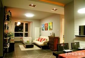 混搭风格小户型家庭装修图片