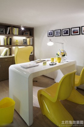 创意书房家具书桌椅图片