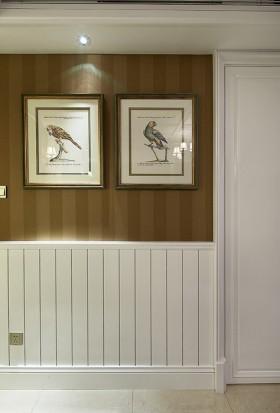 美式家居玄关墙面装饰画图片