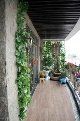 家居复式楼长阳台装修效果图大全