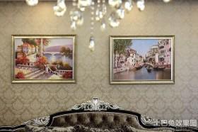 新古典家庭装饰画图片