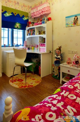 时尚混搭装修儿童房间效果图