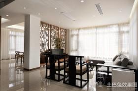 新中式家庭室内装修图片