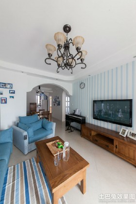 地中海风格两房装修效果图欣赏