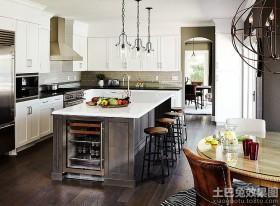 美式风格厨房装修效果图大全欣赏