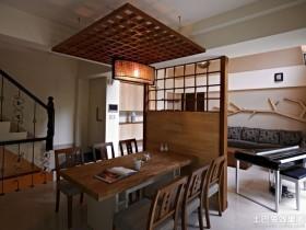 日式装修餐厅吊顶效果图