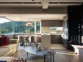 现代简约风格客厅家具创意茶几图片
