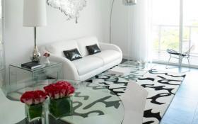 后现代风格单身公寓40平米小户型客厅装修