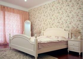 韩式田园风格卧室装修图片欣赏