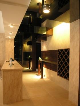 现代家居室内过道灯具装饰效果图