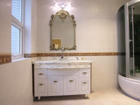 欧式家具整体浴室柜效果图