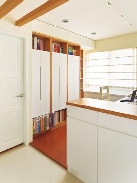 现代风格书柜设计效果图