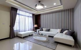 现代简约风格80平米小户型客厅效果图大全